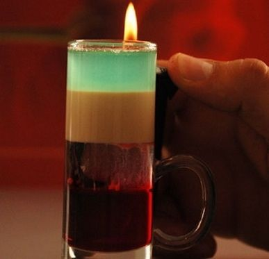 алкогольный коктейль Казантип