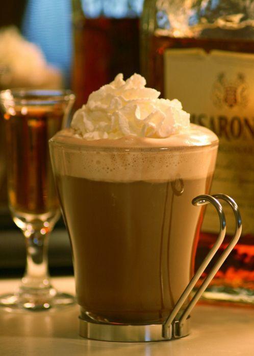Амаретто и кофе (фото)