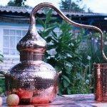 Аламбик – древнейший самогонный аппарат из меди