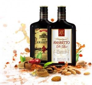 Koktajle alkoholowe z amaretto