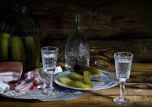 готовый самогон из ржаного хлеба фото