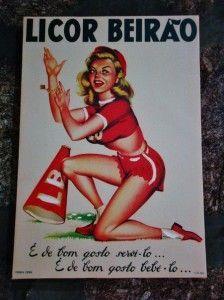 Ликер Бейрао - рекламный плакат