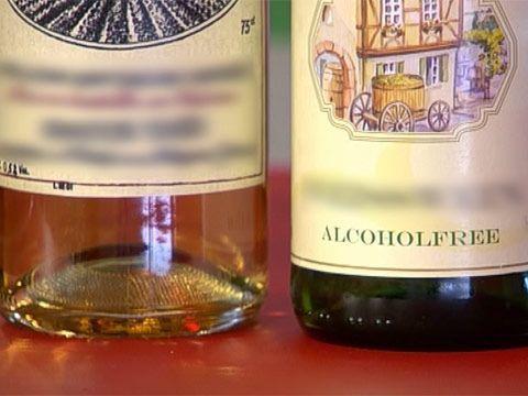 фото безалкогольного вина