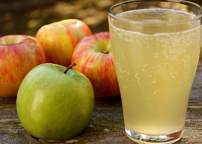 Брага из яблок для питья