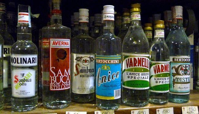 piće anisovyelikery