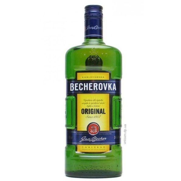 Чешская настойка на спирту бехеровка