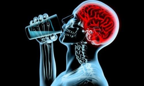 Что происходит с мозгом алкоголика?