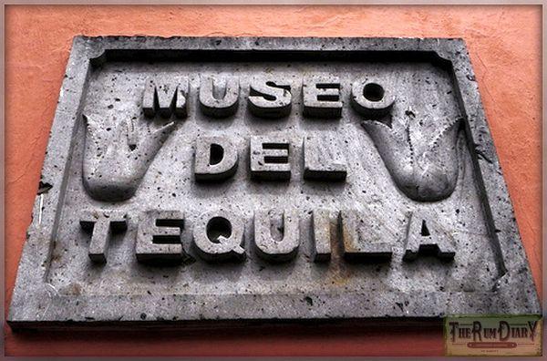 Вывеска музея текила
