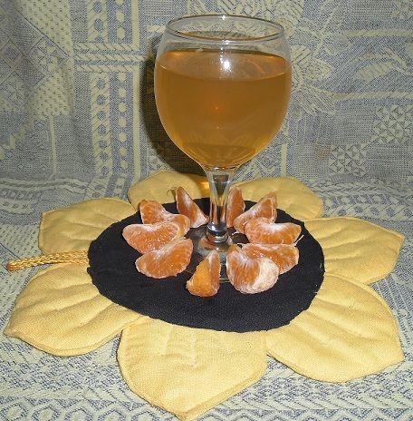 фото домашнего манадринового вина