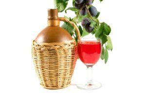 Домашнее сливовое вино по несложному рецепту