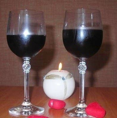 фото домашнего вина из ежевики