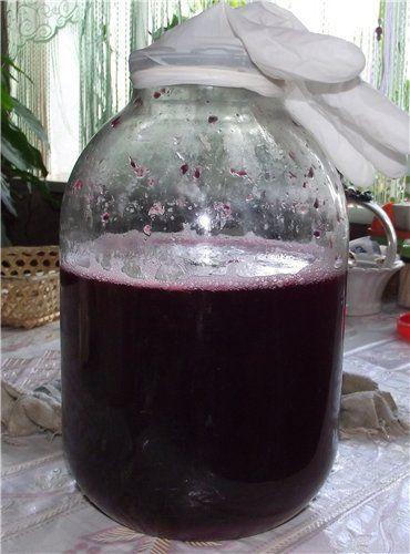 vino fermentirano iz malin