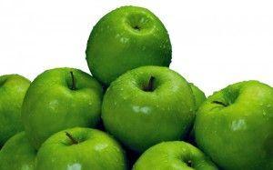 zelena jabolka