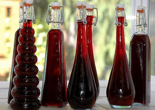 Выдержанное вино из ежевики