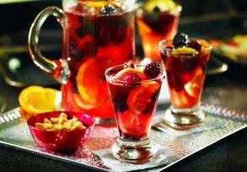 Домашний пунш — рецепт алкогольный и несколько безалкогольных