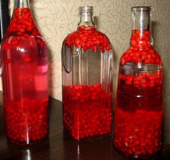 Домашняя настойка из ягод на водке