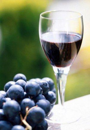 Infuzija grožđa i maline - ukusan i vrlo, vrlo ukusne.