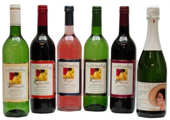 безалкогольное вино