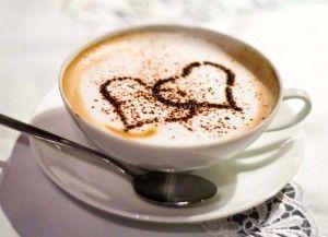Готовим кофе латте