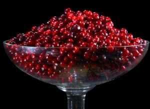 ягоды брусники