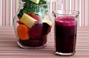 Готовим полезные напитки из овощей