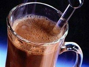 молоко с шоколадом