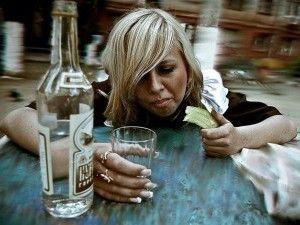 Употребление крепких напитков
