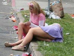 Деградация при употреблении алкоголя