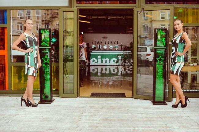 Heineken star serve. Искусство розлива. Без границ