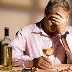 Выпивание из-за стресса на работе