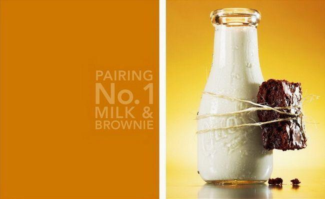 Идеальные пары – напитки + еда (8 фото)