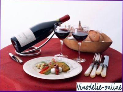 Искусство подачи вина к столу