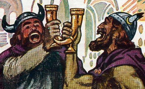 пиво викингов