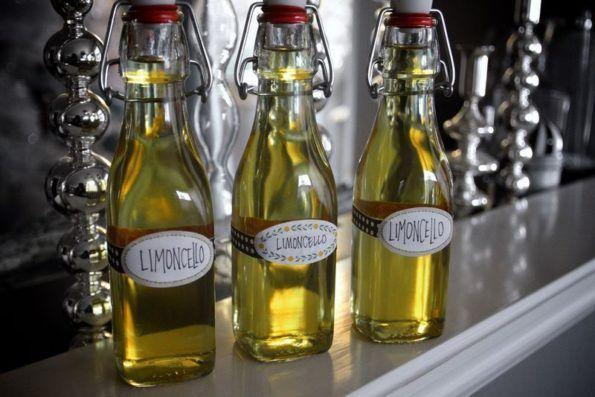 Итальянская настойка лимончелло