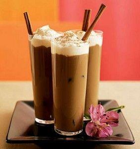 káva koktejl