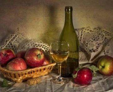 Яблочное вино своими руками — простой рецепт