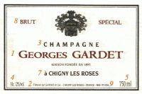 Этикетка шампанского
