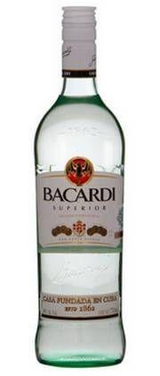 Светлый ром Бакарди