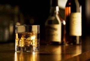 виски в бокале