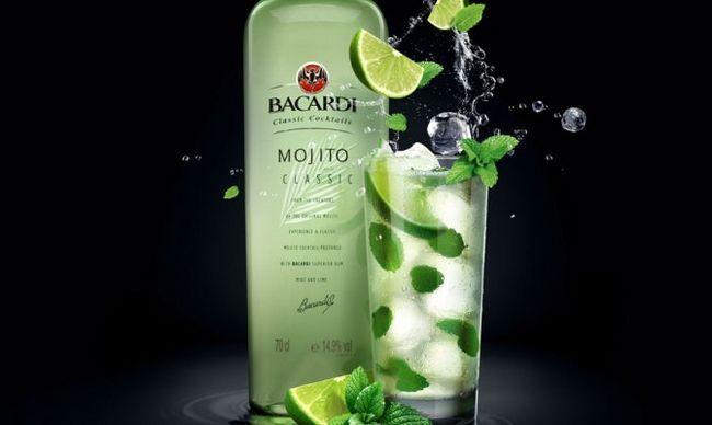 Бутылки Бакарди Мохито хватит на всех