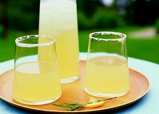 Водка на имбире с лимонным соком