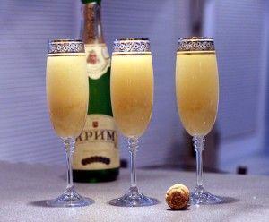 Как приготовить коктейли с шампанским