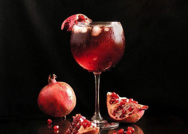 Домашнее вино из гранатового сока