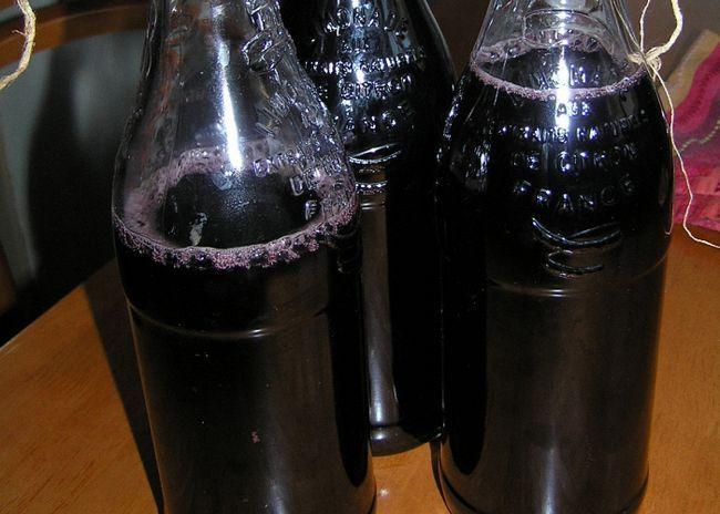 Вино из черники и меда поставить для брожения