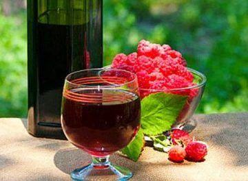 Kako narediti domače vino iz malin. recept