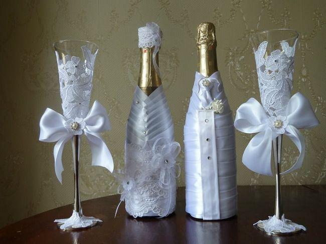 Kako ukrasiti šampanjac