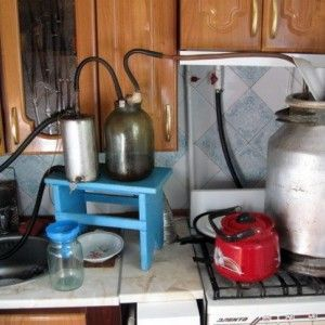 самодельный парогенератор и самогонный аппарат
