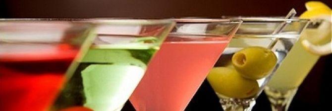 Какими бывают коктейли с мартини?