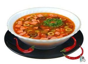 Какой суп снимает похмелье?