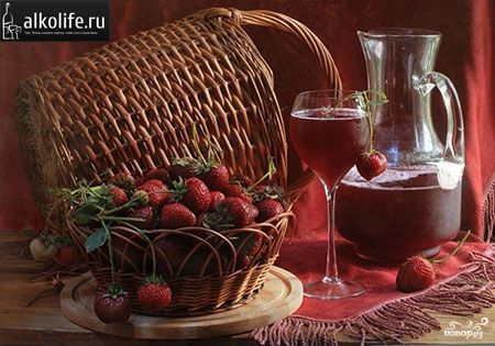 Клубничное вино: лучшие рецепты